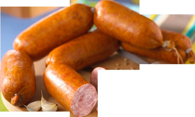 La gamme de saucissons TLC