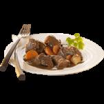 Assiette de civet de chevreuil TLC