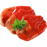 Côtes de porc à la sauce tomate TLC